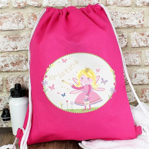 Personalised Garden Fairy Swim Bag